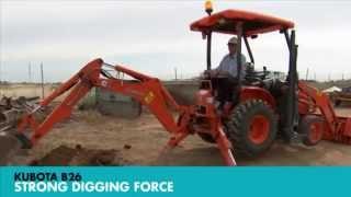 Kubota B26 Tractor Loader Backhoe Farm Machinery Trader