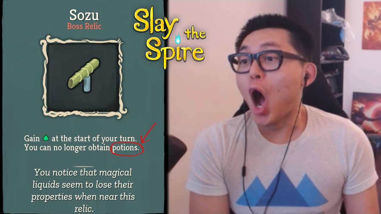 Sozu 0% Win-Rate Curse Lifted??? - Slay the Spire Amaz