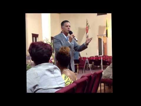 Evangelist John Ramirez at Power Week St.Thomas Virgin Islands