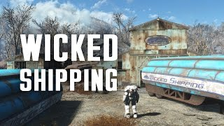 The Full Story of Wicked Shipping and their Fleet Lockup - Fallout 4 Lore