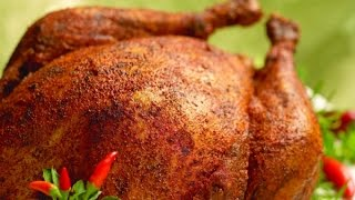 Fried Turkey on Thanks Giving Day! 2014