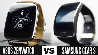 Asus ZenWatch Vs Samsung Gear S Smartwatch Comparison