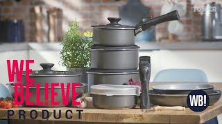Freedom Cookware Set w/Detachable Handle PRODUCT OVIEW
