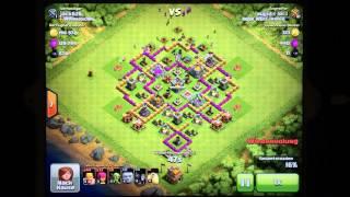 Clash of Clans W@rnercl@n jack626 vs. majid Verteidigung gewonnen