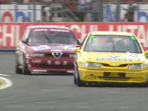 Classic Murray Walker  - BTCC Best Moments - 1994 British Touring Car