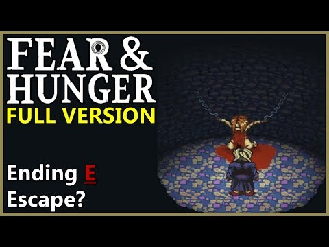 Ending E - We Have Failed, Escape?... | Fear & Hunger v1.0 - [Part 9]