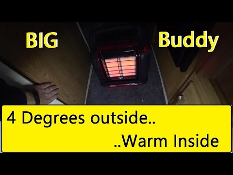 Heating a RV in 4 degree Temps