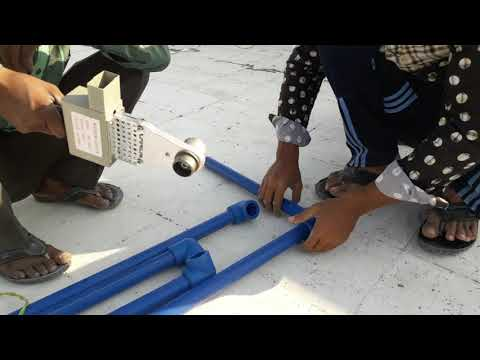 pvc-pipe-installation-from-roof-to-ground।plumbing-work-at-roof-hang-to-ground-floor।-best-plumbers