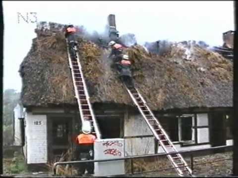 Feuer in Hamburg Langenhorn 1995