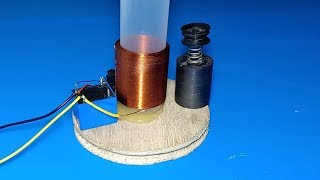 How to make Linear actualtor engine , Amazing idea 2019 , Science school project