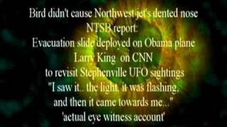 Stephenville, Crawford, Bush, UFO's and Larry King