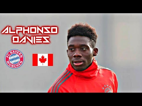 Alphonso Davies 2018-2019 - Wonder Boy - Welcome To Bayern - Crazy Skills Show
