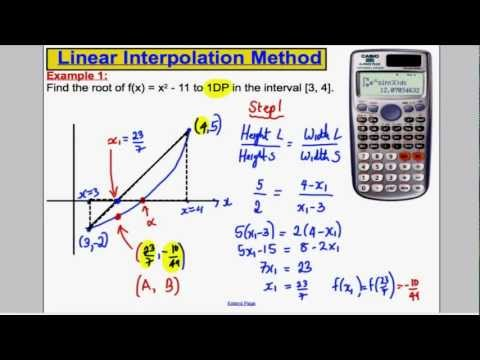 A-Level Maths Edexcel Numerical Methods (3) - FP1 Edexcel Maths A-Level