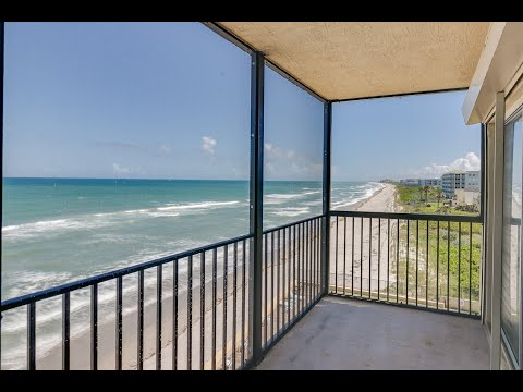 205 Highway A1A #506 | Sandpiper Towers Condo For Sale | Video Tour | Satellite Beach, FL 32937