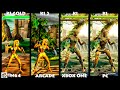 Killer Instinct MAYA Graphic Evolution 1996-2016 | N64 ARCADE XBOX ONE PC | PC ULTRA