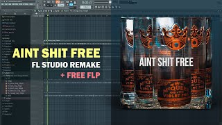 Wiz Khalifa - Aint Shit Free (Instrumental) + Free FLP Remake