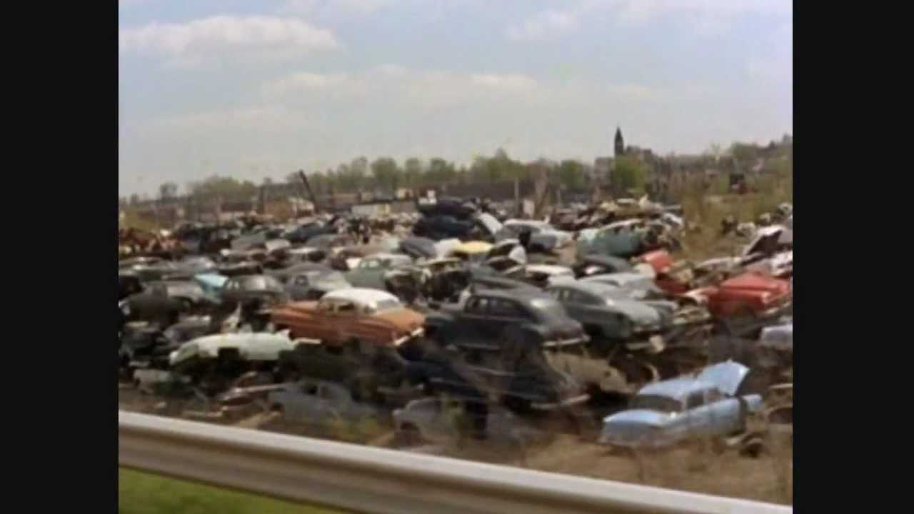 Classic Car Vintage Auto Scrap Yard Of Death Youtube