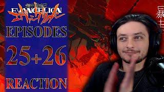 Teeaboo Reacts - Neon Genesis Evangelion Episodes 25 + 26 - In My Mind, In My Head