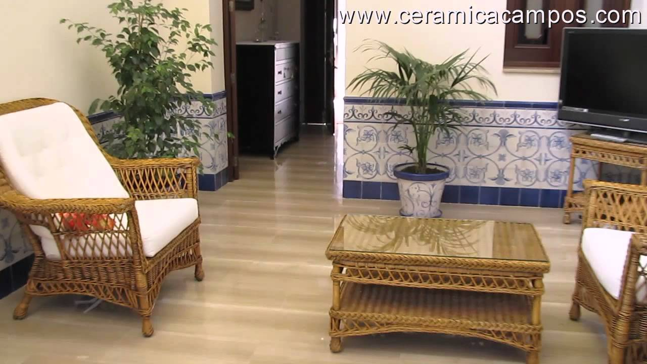 Z calos de azulejos youtube for Zocalos de ceramica