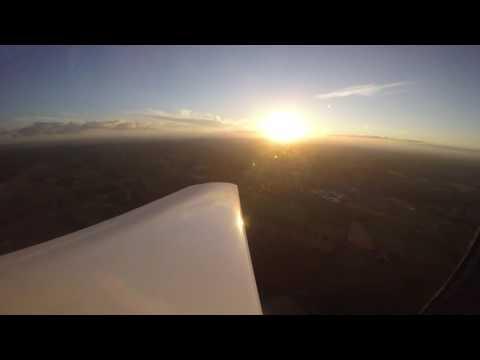 Europa aircraft Flight around Cork2