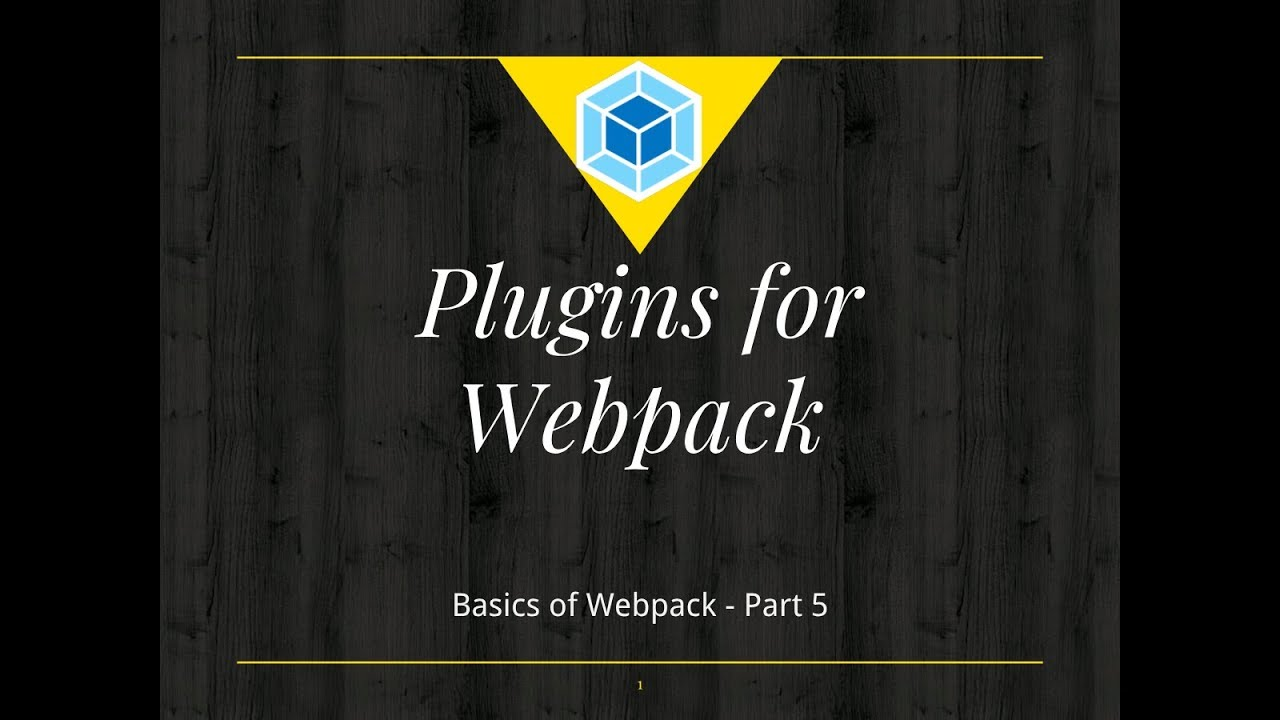 Webpack Basics Tutorial #5:  Webpack Mini Css Extract Plugin NPM