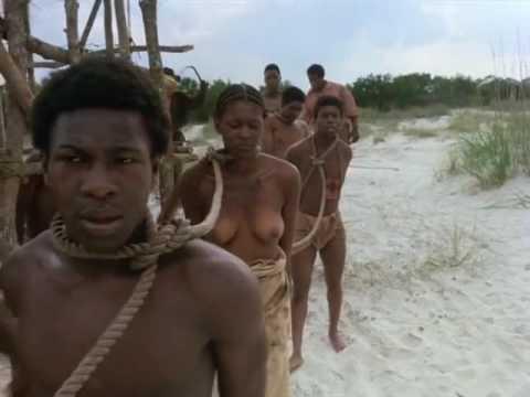 L'arrivée de Kounta Kinte sur la plage