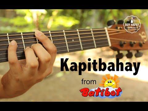 90s TV - Batibot Kapitbahay acoustic guitar cover w/ lyrics best thumbnail