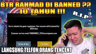 RIP CONQUEROR RAHMAD KENA BANNED LAPOR ORANG TENCENT :( - PUBG MOBILE