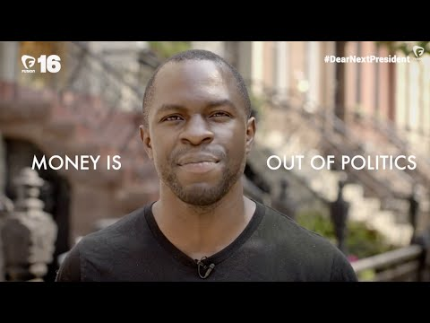 Gbenga Akinnagbe wants money out of politics  DearNextPresident
