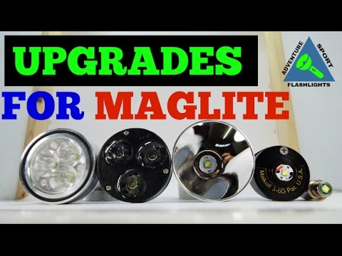 Verrassend LED Upgrades for Maglite (Top 5 Best) - YouTube OW-47