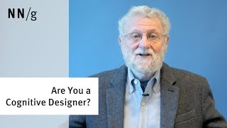 Are You a Cognitive Designer? (Don Norman)