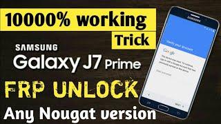 Samsung J7 Prime F R P Unlock New Method 1000% Working