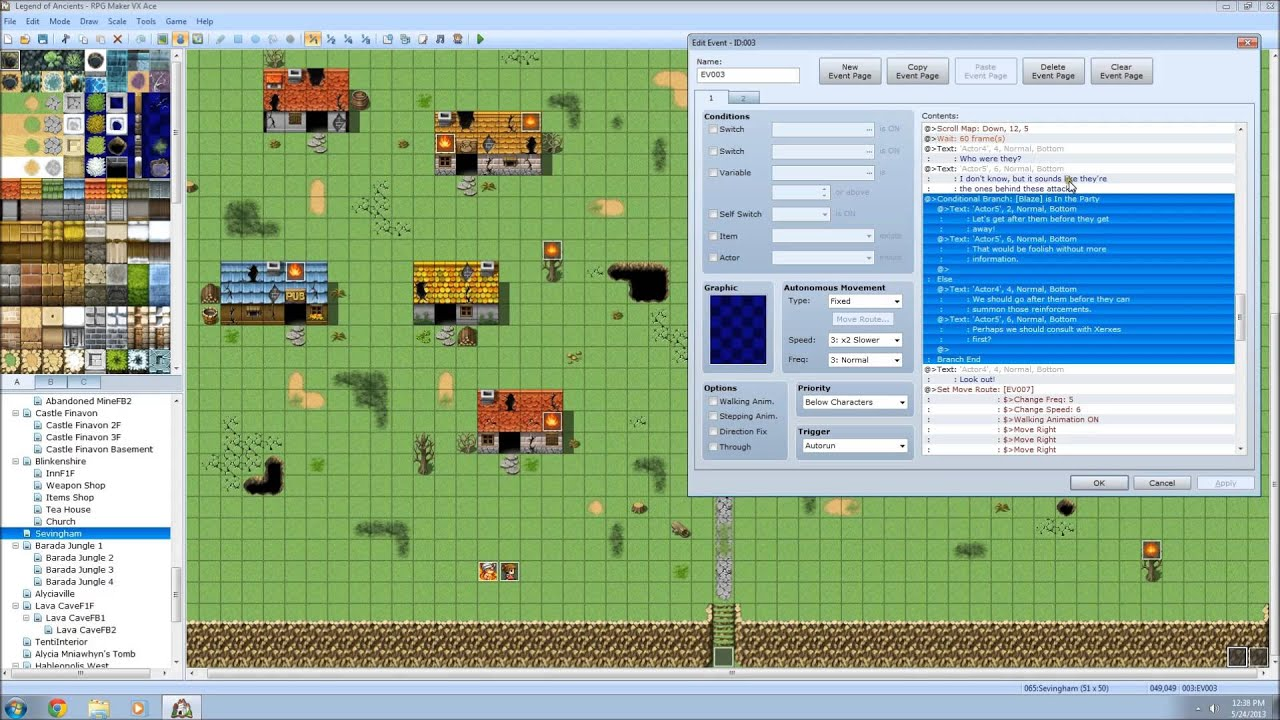 Rpg Maker Vx Ace Bulletin Rmvx Ace Features And: Cutscene Ending In Battle
