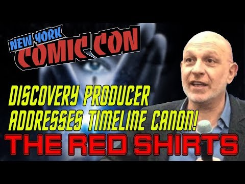 STAR TREK DISCOVERY WILL ADDRESS CANON ISSUES!