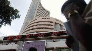 Sensex ends 587 points down, Nifty closes below 10,750