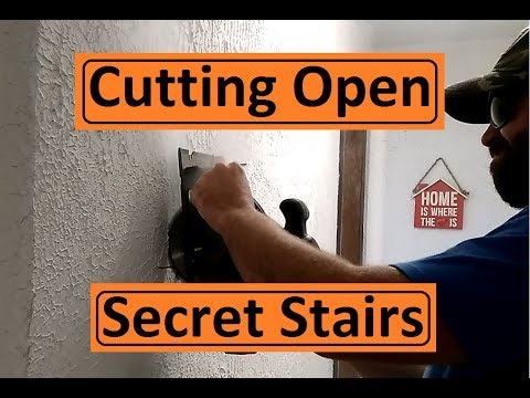 Opening My Secret Stairs