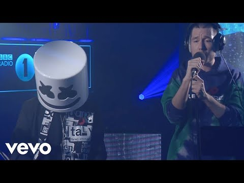 Marshmello featuring Bastille - Happier in the Live Lounge