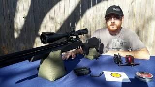 Air rifle penetration test  ( fx Streamline 25 )