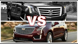 2018 Cadillac Escalade VS 2018 Cadillac XT5 Interior Design Review