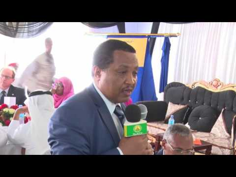 Speech  state minister of transport Ethiopia Mr Abdissa Tedisa