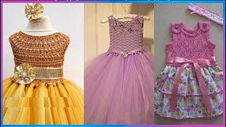 Vestidos Tejidos con tul para niñas de 3 años