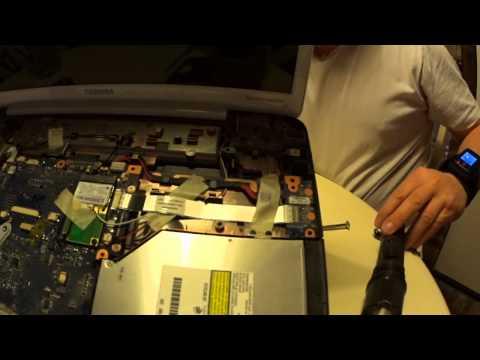 Réparation De La Connectique D'alimentation TOSHIBA