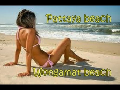 Pattaya beach to Wongamat beach Thailand Dec 2014