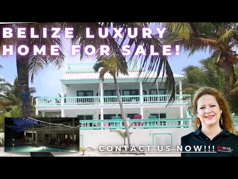 Ambergris Caye Belize Luxury Home For Sale