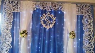 Оформление свадебного зала ресторана Султан Палас.