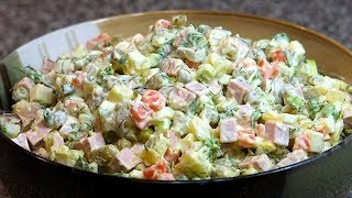 """Готовим салат """"Оливье"""""""