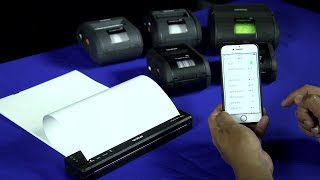 Step by guide on how to set up and print via wifi airprint with brother pocketjet 7 ruggedjet 2, 3 4 mobile thermal printers.