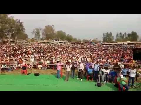 Manoj Tiwari Mridul BJP Rally