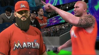 """""""GET THESE HANDS"""" Miami Marlins Franchise Featuring """"The Rock"""" MLB The Show 18 Franchise Mode EP3"""