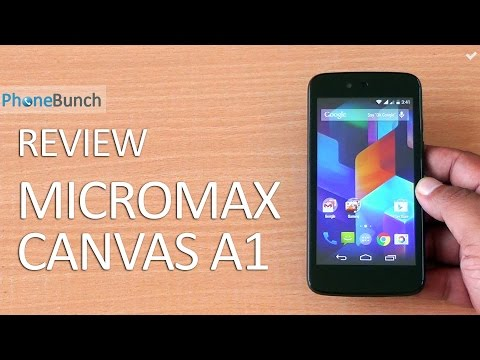 Micromax Canvas A1 (Android One) Full Review